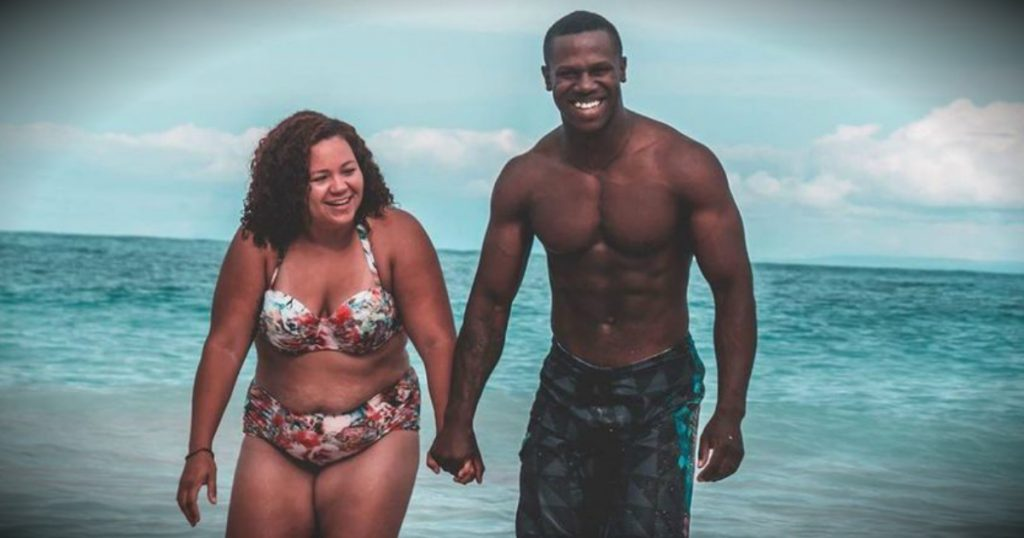 godupdates wife responds to body-shaming of beach photo fb