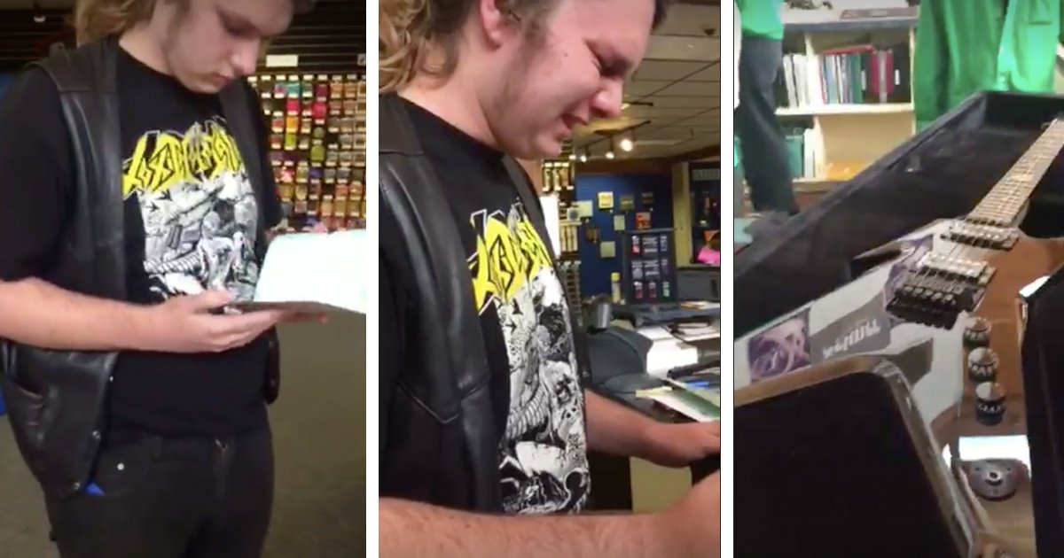 Son Is Shocked At Gift His Father Bought Him Before He Passed Away