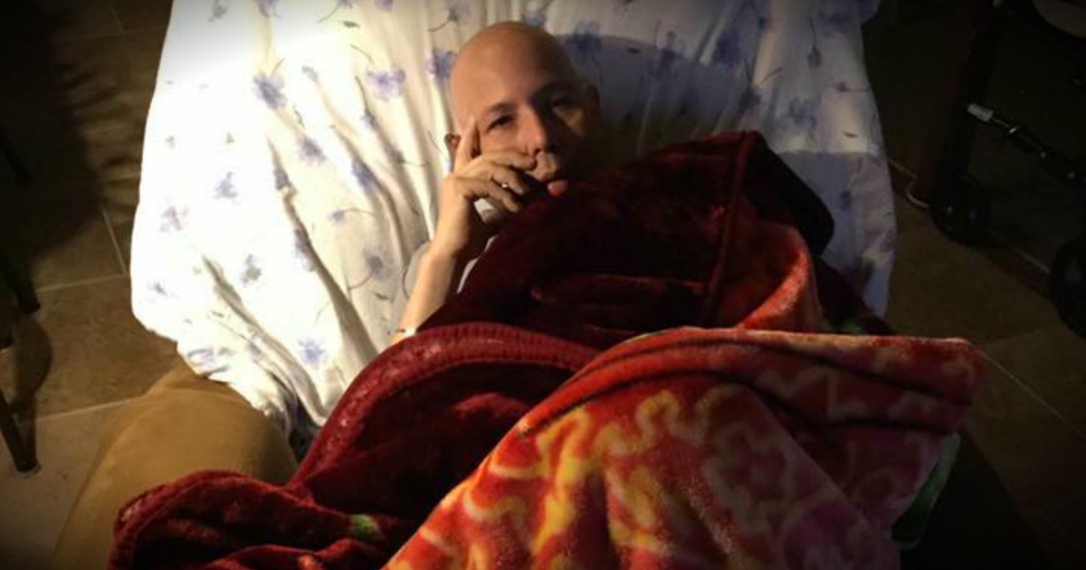 godupdates Dying Veteran's Final Wish For Calls and Texts Granted By Strangers fb