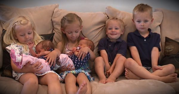 Couple Battles Infertility, Then Winds Up Conceiving 3 Sets Of Twins