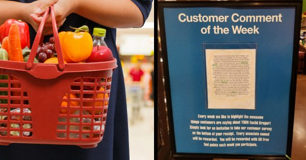 Grandma's Grocery Store Comment Card Goes Hilariously Viral