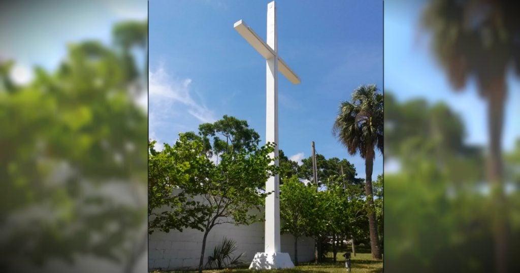 godupdates legal battle after judge orders Pensacola's public cross come down fb