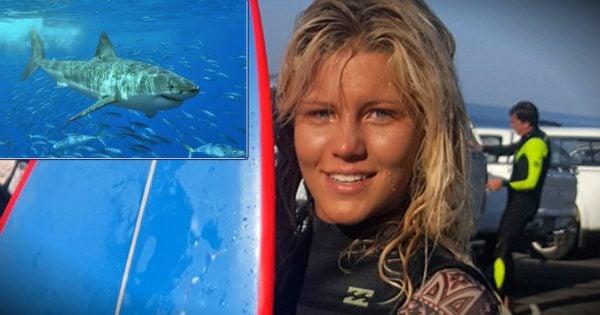 Hero Swims Straight Towards Shark Attacking A 13-Year-Old Girl