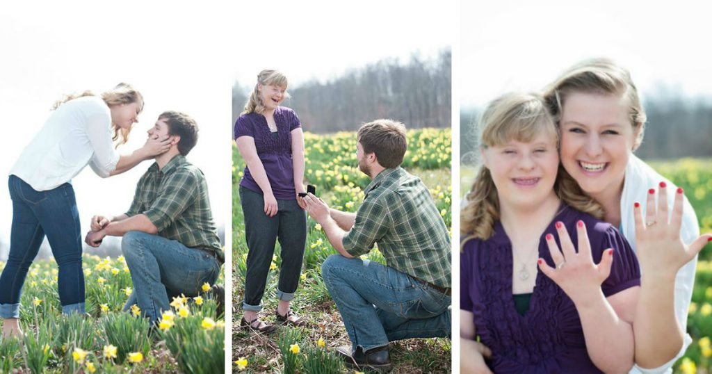 godupdates man's proposal included both sisters fb