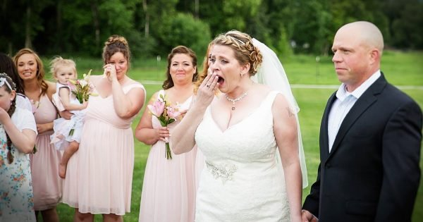 Unexpected Wedding Guest Reconnects Bride With Her Late Son