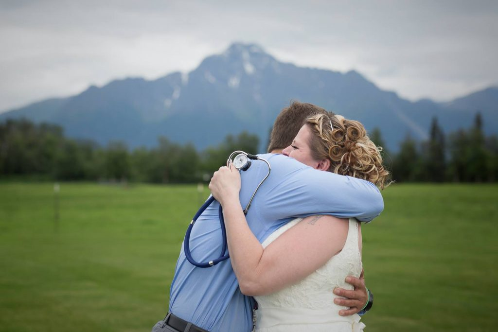 Bride Is Surprised Son's Heart Recipient Wedding _ everything inspirational