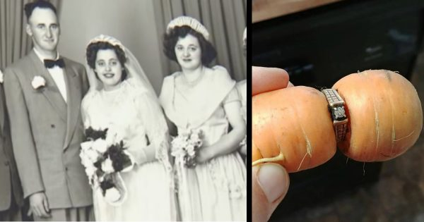Grandma's Missing Engagement Ring Shows Up On A Carrot 13 Years Later