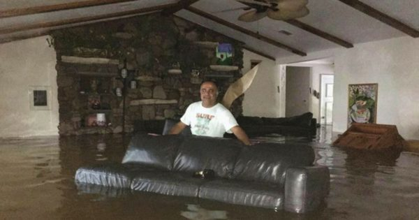 Family Turns To Facebook For Rescue During Hurricane Harvey