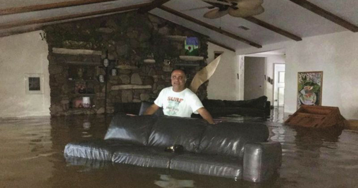 godupdates houston family tried riding out Hurricane Harvey saved by Facebook plea fb