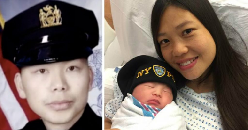 godupdates slain police officer's widow gives birth to his baby 2 years after death fb