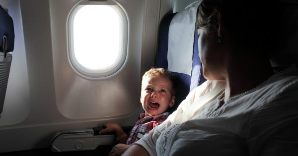 Stranger's Reaction to A Crying Baby on Plane Goes Viral