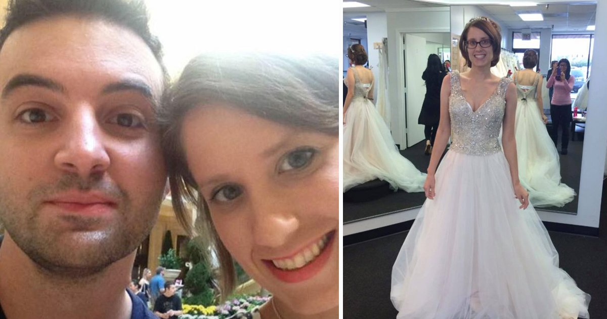 Husband Shares Photo Of The Wedding Dress He Never Saw Her Wear _ god updates