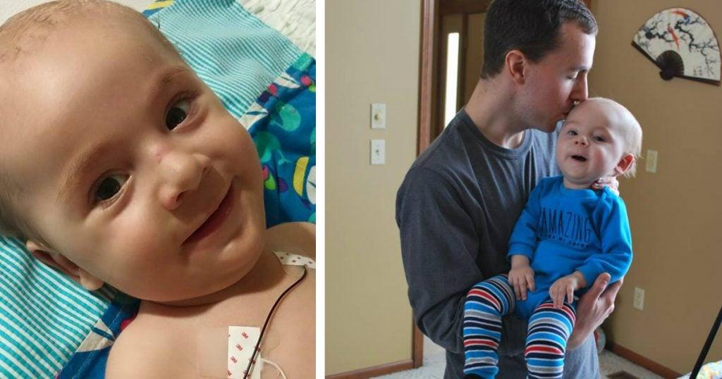 couple's newborn photo honoring their late son 1