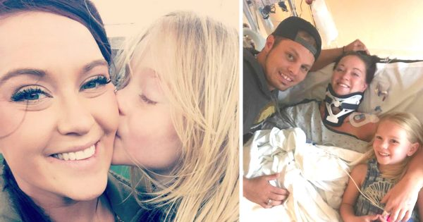 Freak Accident Leaves Young Mom Paralyzed, But Thankful For Every Miracle