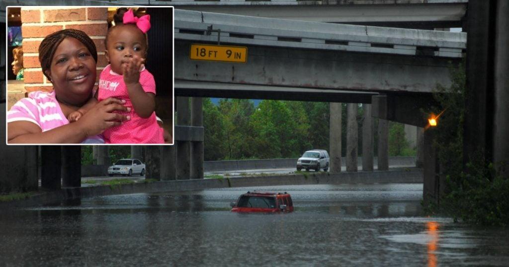 godupdates 3yo survives hurricane harvey flooding clinging to her mom fb