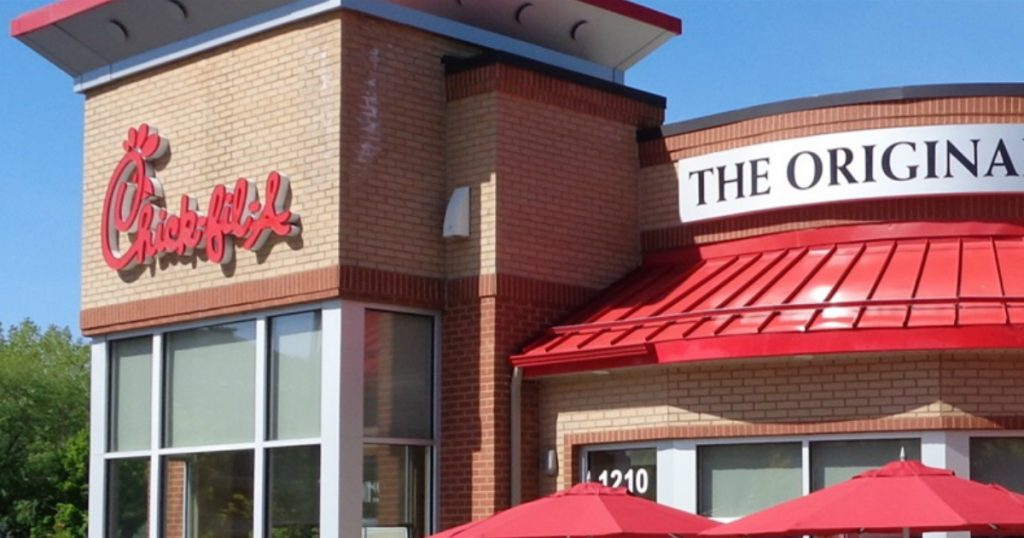 godupdates Chick-fil-A opened on Sunday for displaced church fb