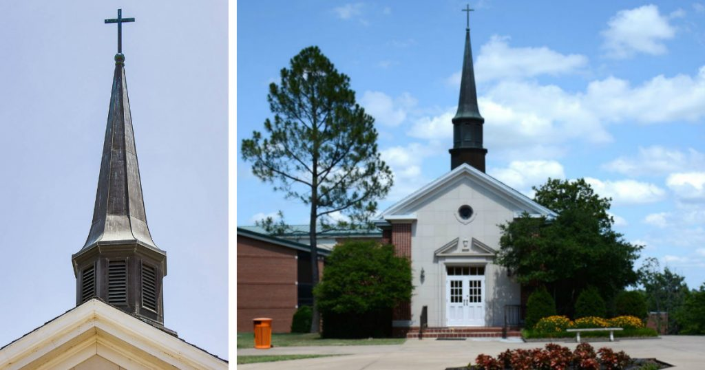 godupdates group wants ecu campus chapel cross removed fb