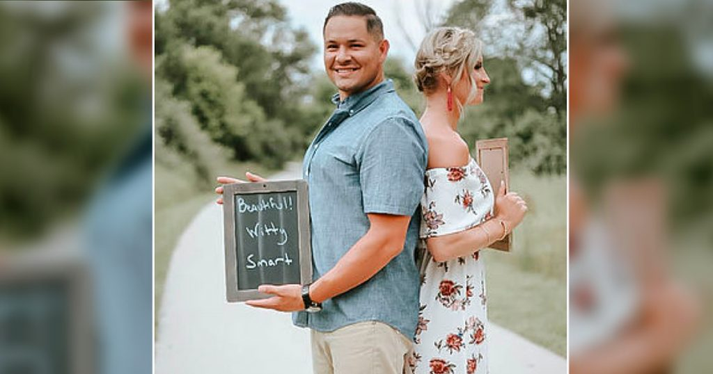 godupdates husband has best reaction to wife's surprise pregnancy annoucement 3