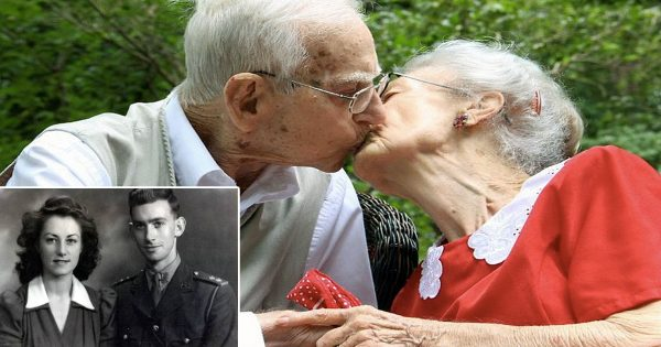 Couple Fell In Love During WWII, Then After 75 Years Of Marriage Die Hours Apart
