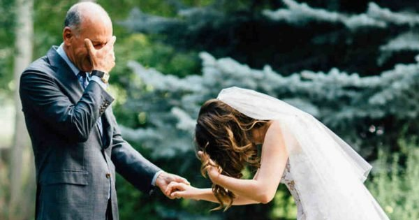 10 Times Where The Father Of The Bride Broke Down On His 'Little Girl's' Big Day