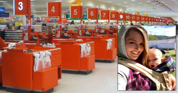 Mom In Line At Target With 2 Fussy Kids Goes Over Budget, Then Stranger Steps In