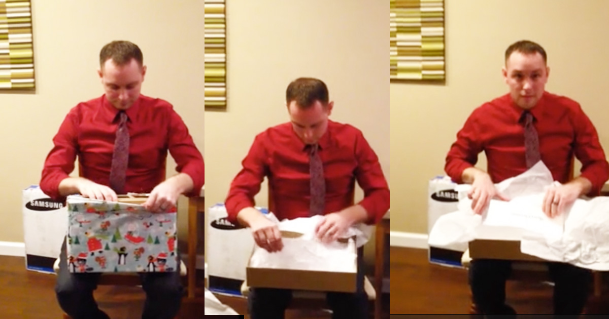 Pregnant Wife Surprises Husband With Twins