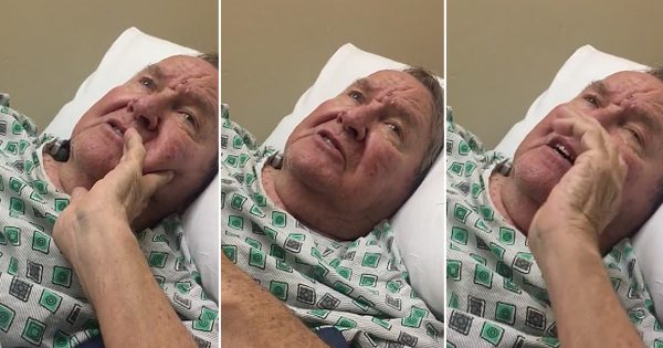 Grandpa With Dementia Sings His Favorite Hymn