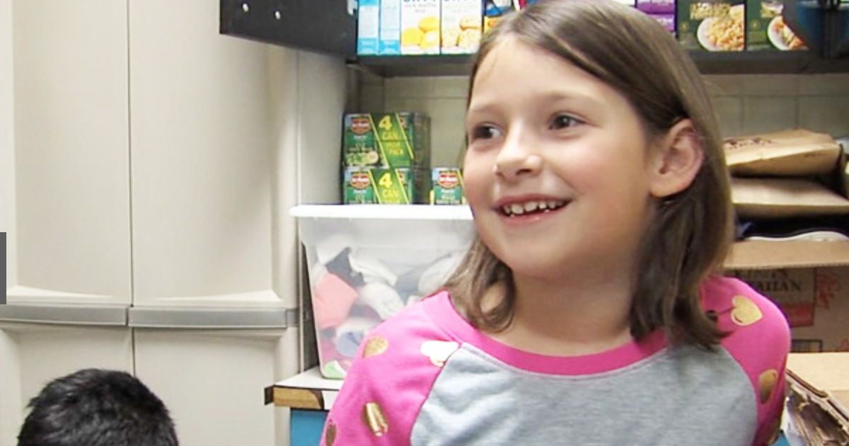7-Year-Old Finds Winning Lottery Ticket And Buys Food For The Needy