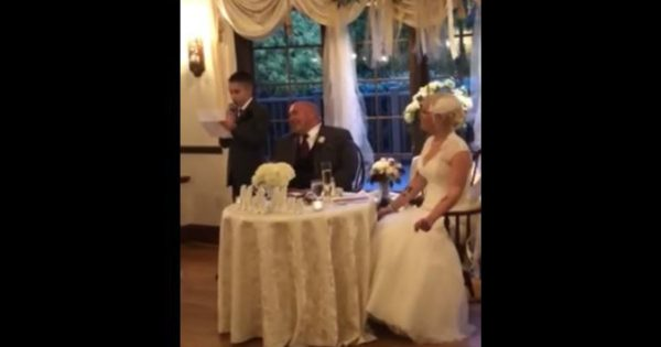 10-Year-Old Delivers Funny Best Man Speech At Dad's Wedding