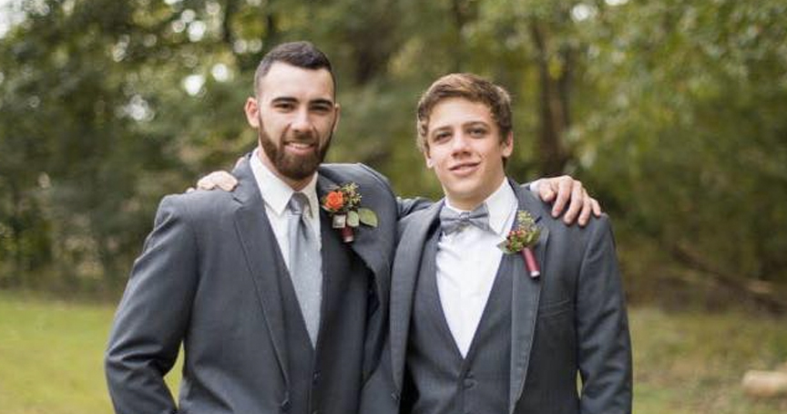 Man Loses His Brother To Addiction, Then Pens Heartbreakingly Honest Message _ Brandon Wood _ Godupdates