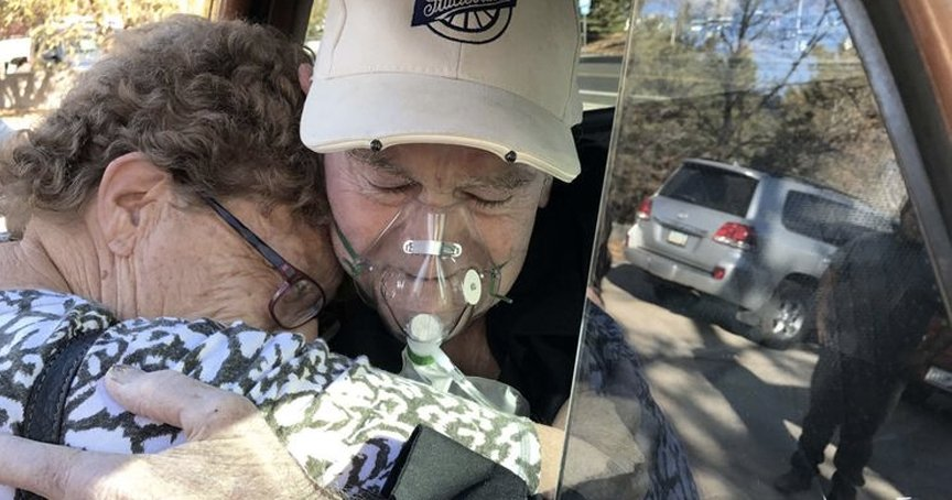 Trucker Hugs Wife Before Taking Final Ride In His 62-Yr-Old Studebaker _ howard savage _ godupdates