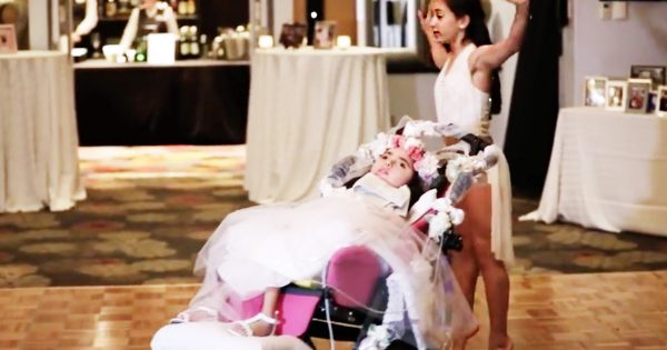 Daughters Perform Special Dance For Their Mom At Her Wedding