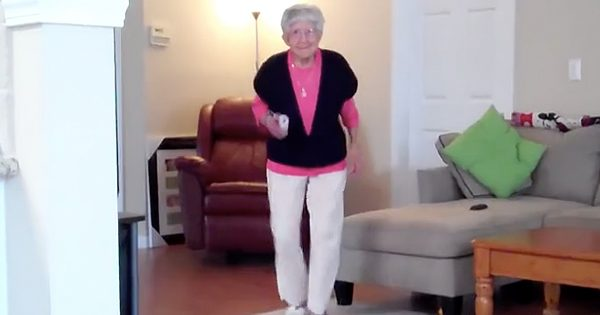 Spry 97-Year-Old Dances The Charleston