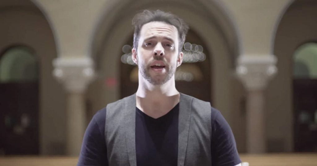 A Cappella Singer Chris Rupp 'His Name Is Jesus'_GodUpdates
