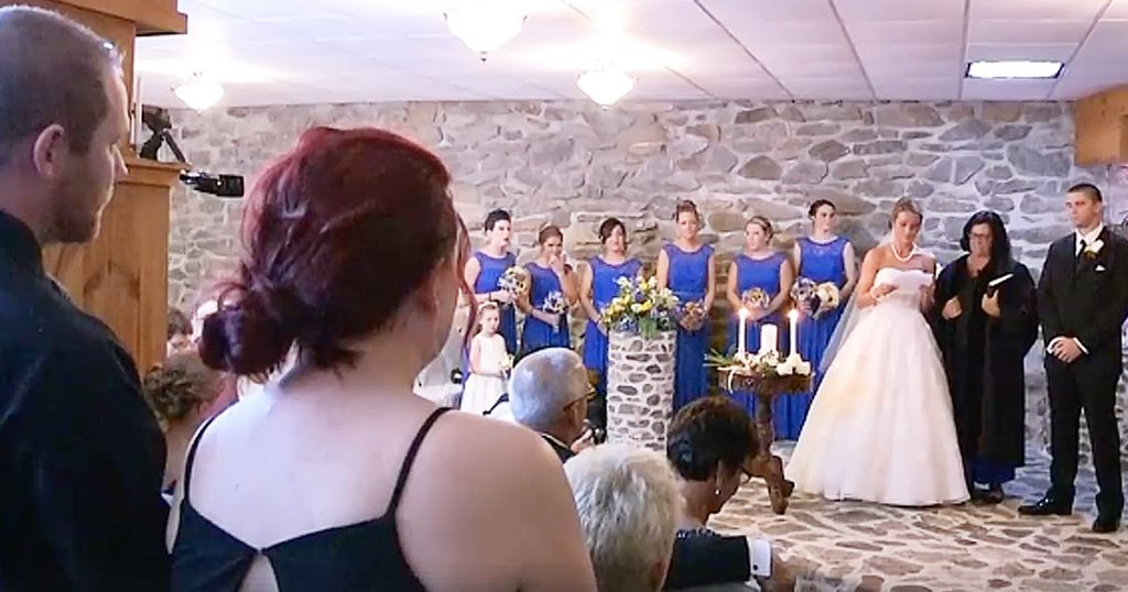 Bride Says Special Vows to Step Son