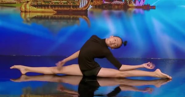 Contortion Dancer's Performance Wows The Judges