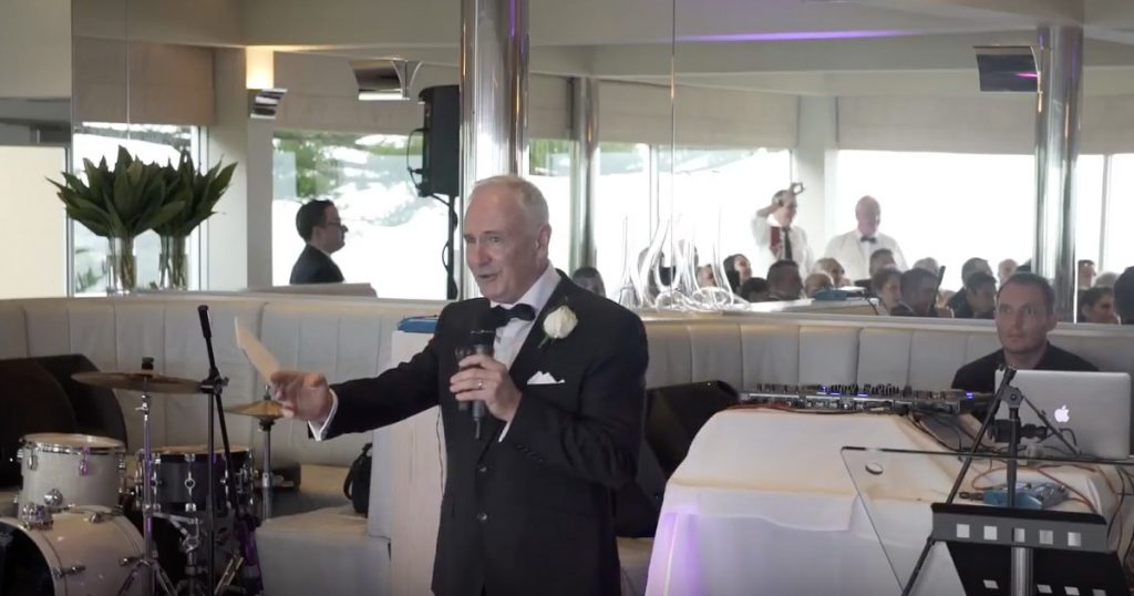 Father Of The Bride Sings An Elton John Inspired Wedding Toast