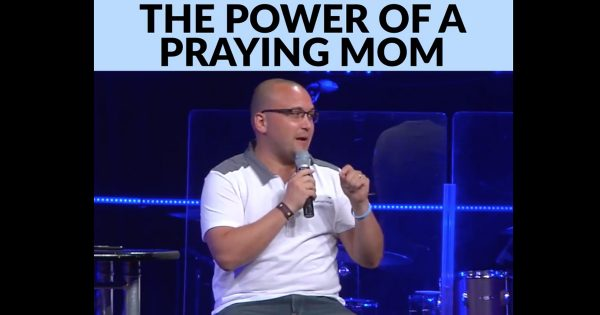 Pastor Shares How His Praying Mom Saved Him From Drugs