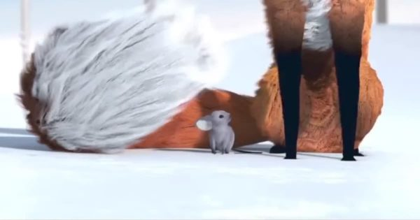 Fox And The Mouse Commercial For John Lewis' Christmas Advert