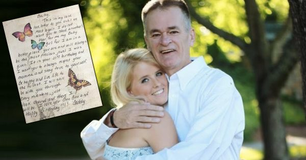 Dad Sends His Daughter A 21st Birthday Card From The Grave