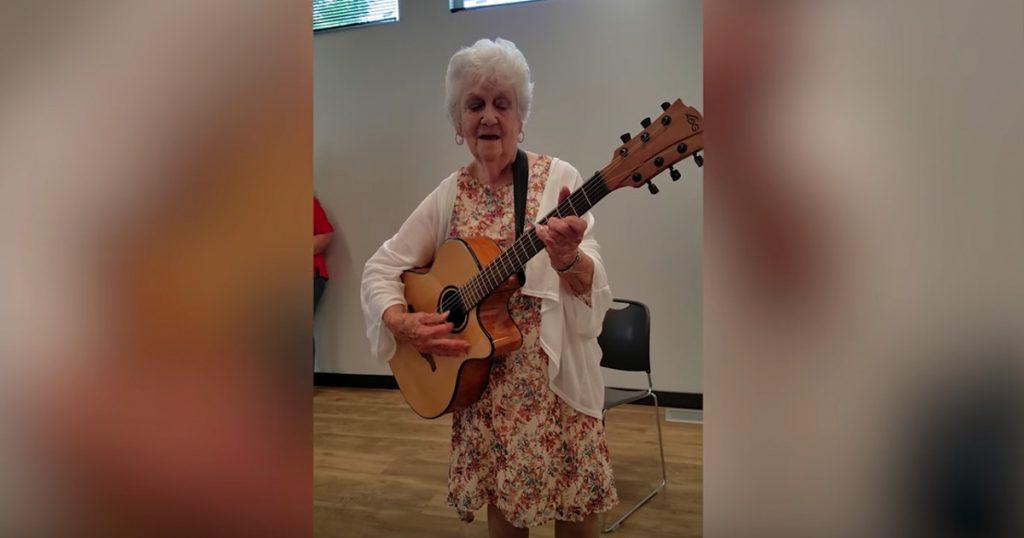 Funny Granny Patsy Cline Parody