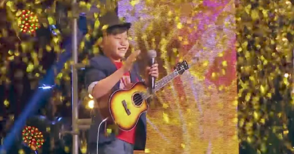 Kid Guitarist On Asia's Got Talent_GodUpdates
