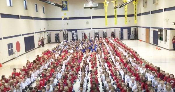 Star Spangled Children's Choir Honors Vets