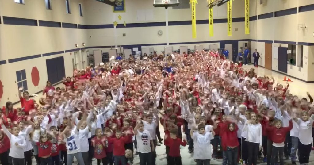 Students Sing Special 'Thank You' Songs For Veterans Day