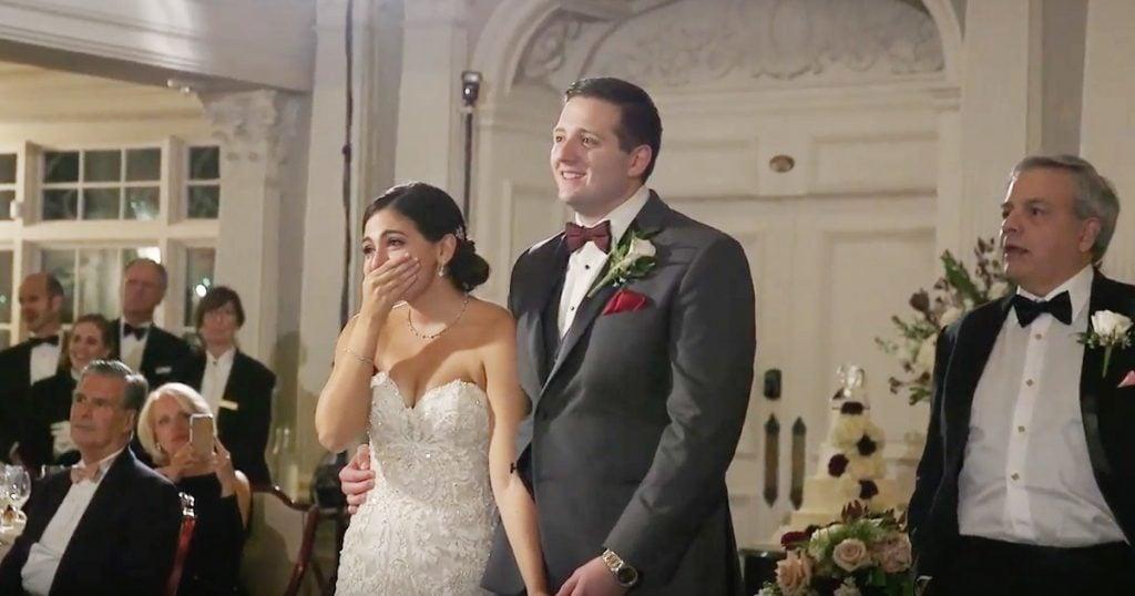 Les Miserable Wedding Flash Mob Surprise