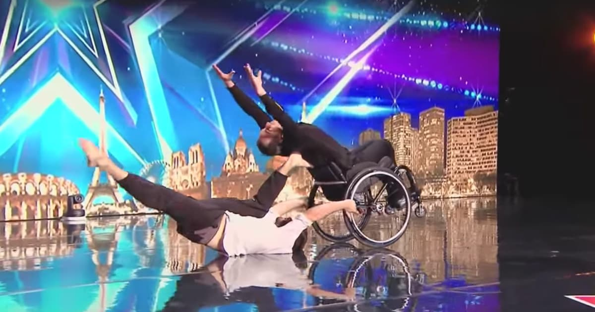 Man In Wheelchair Dance Routine France's Got Talent Audition_GodUpdates