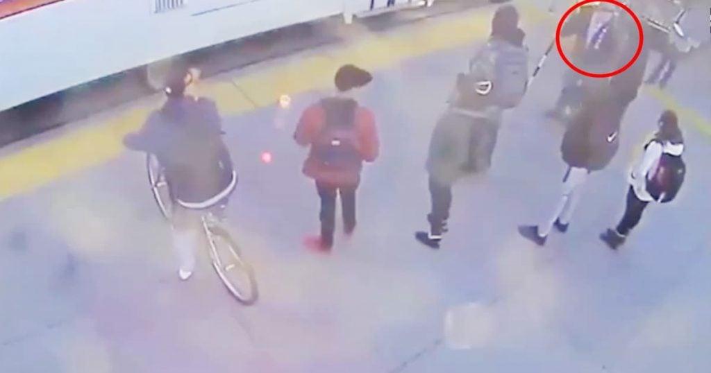Stranger Saves Blind Man From Train_GodUpdates