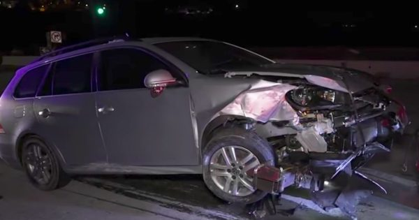 God Sends Angel After Husband Crashes While Rushing Pregnant Wife To Hospital