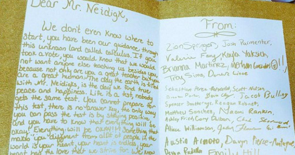 godupdates 12th-grade students bought christmas presents