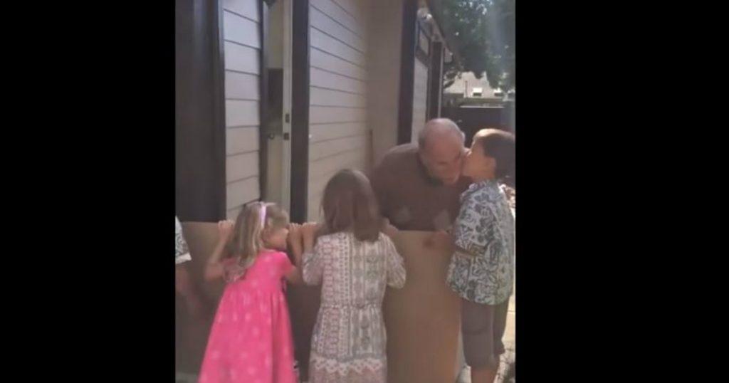 godupdates grandkids surprised grandpa
